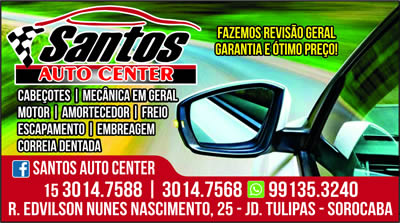 Santos Auto Center  Sorocaba SP